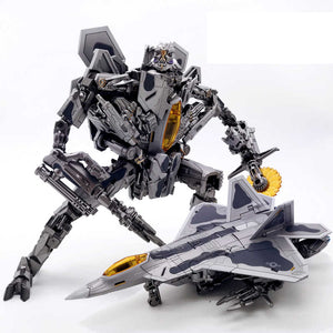 "11"" Inch Deformation BMB LS-04 Starscream Star Adjutant ""F22 Raptor"" Oversized Studio Series 'SS-06' Figure Black Mamba (BMB)"
