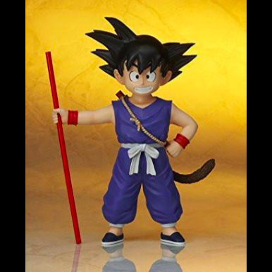 "08"" Inch Tall Gigantic Series Base Kid Son Boy Goku Blue ... 