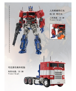 "12"" Inch Deformation BMB LS-13 Optimus Commander ""Big Rig"" Oversized Masterpiece Movie"