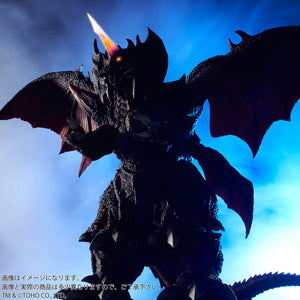 "13"" Inch Tall HUGE Destoroyah Ric Night (LIGHT UP EYES + HORN) LED 1995 TOHO Figure LIMITED EDITION Figure X-Plus 25cm Scale"