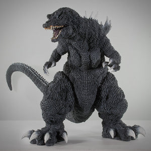 "16"" Inch Tall HUGE 2001 Godzilla White Dorsal Fin GMK TOHO Vinyl Figure X-Plus Gigantic Series"