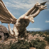"18"" Inch Tall HUGE King Ghidorah 1968 Ric Saucer X-PLUS TOHO DAI-KAIJU SERIES Destroy All Monsters"