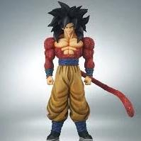 "19"" Inch Tall HUGE Gigantic Series Super Saiyan 4 Goku Special Color Ver SS4 Figure 1/4 Scale Figure X-Plus Gigantic Series"