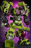 "18"" Inch Deformation Devastator Combiner 5-Pack ""Construction"" Oversized Gravity Builder GT-01 G1"