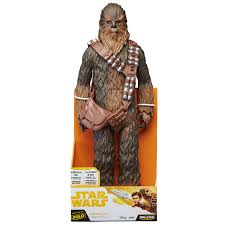 "18"" Inch Tall HUGE Star Wars Big-Figs Solo Chewbacca 'Chewy' (Blaster) Jakks Pacific Figure Figure Jakks Pacific"