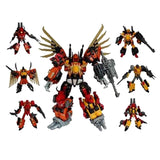 "18"" Inch Deformation Predaking Combiner 6-Pack + UPGRADE KIT ""Animals"" Oversized Jinbao Predacons G1"