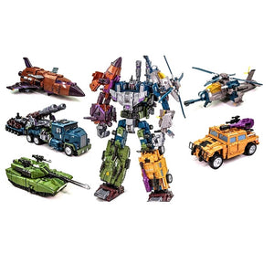"18"" Inch Deformation Bruticus Combiner 5-Pack ""War Vehicles"" Oversized Warboton WB-01 G1"