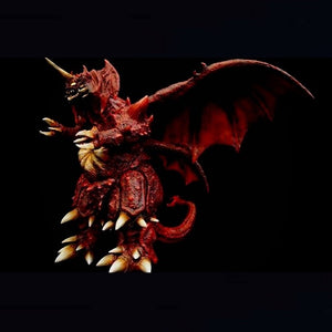 "13"" Inch Tall Destoroyah vs Burning Godzilla PX 1995 TOHO Vinyl Figure 25cm Scale PREVIEWS EXCLUSIVE"