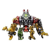 "14"" Inch Constructicon Devastator ""Construction Vehicles"" 6-Pack Combiner (LIGHT UP & SFX) LED ROTF"