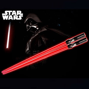 "10"" Inch Star Wars Darth Vader Red (LIGHT UP) LED Chopsticks Kotobukiya Disney"