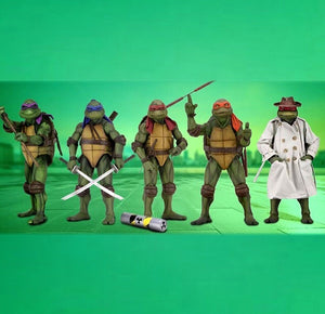 "18"" Inch Tall TMNT 6-Pack Donatello / Raphael / Michelangelo / Leonardo 1/4 Scale Figure"