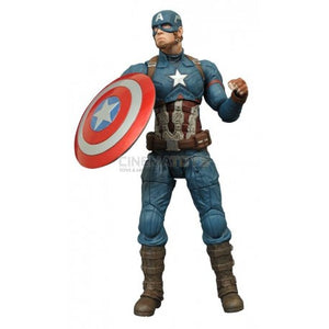 "18"" Inch Tall HUGE Avengers Captain America 1/4 Scale NECA Figure Discontinued (Avengers: Civil War) Figure NECA"