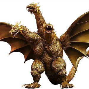 "12"" Inch Tall HUGE King Ghidorah 2001 X-PLUS TOHO DAI-KAIJU SERIES GMK Godzilla Mothra 25cm Scale"