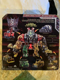 "14"" Inch Constructicon Devastator ""Construction Vehicles"" 6-Pack Combiner (LIGHT UP & SFX) LED ROTF Figure Hasbro"