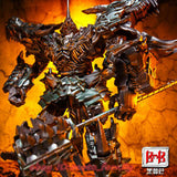"14"" Inch Deformation BMB LS-05 Grimlock Ancient Leader ""T-Rex"" Oversized Studio Series 'SS-07' Robot Figure Black Mamba (BMB)"