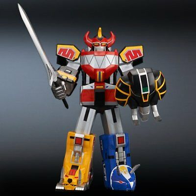 "16"" Inch Tall HUGE Gigantic Series Megazord Daizyujin Robot Chogokin Power Rangers MMPR Figure Figure X-Plus Gigantic Series"