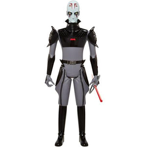 "31"" Inch Tall HUGE Star Wars Big-Figs Inquisitor (Double Lightsaber) Clone Wars Figure Jakks Pacific"