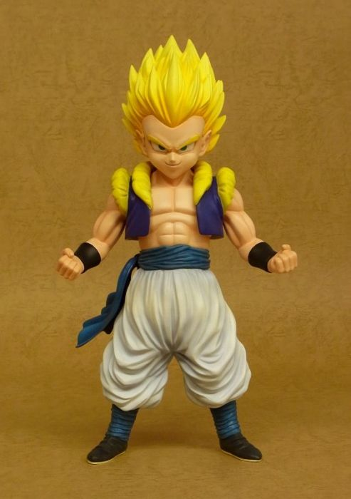 "12"" Inch Tall HUGE Gigantic Series Fusion Gotenks Super Saiyan SS Yellow Hair X-Plus 1/4 Scale"