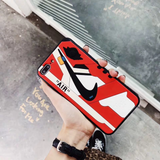 Black/Red J1 Shoe Case