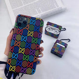 Colorful pixel Gucci Tpu case