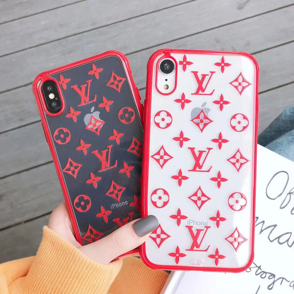 Transparent LV Tpu case