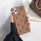Tan LV Slim Luxury Case