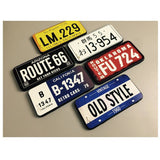 License plate case
