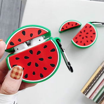 Silicone Watermelon Airpod Case
