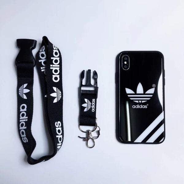 Adidas Tempered glass Trunk Case