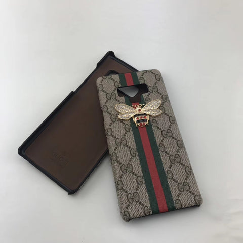 Gucci Bee leather galaxy case