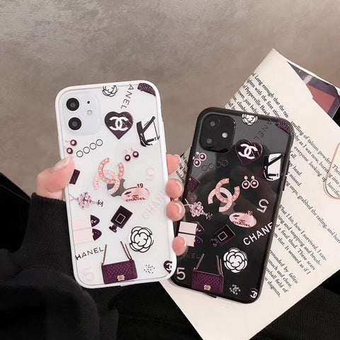 Transparent CC logo Tpu case