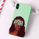 Money Blindfold mint case
