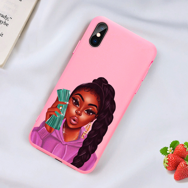 Money ponytail pink case