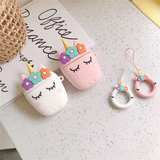 Sleepy Unicorn Airpod Case