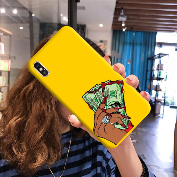 Bloody Money Yellow case