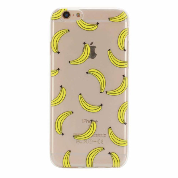 Bananas Clear TPU case