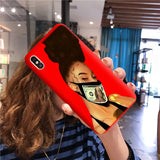 Money mask red case