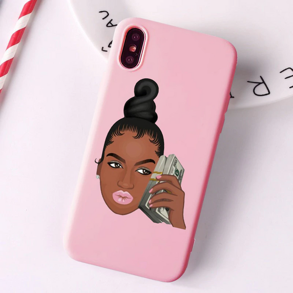 Money phone pink case