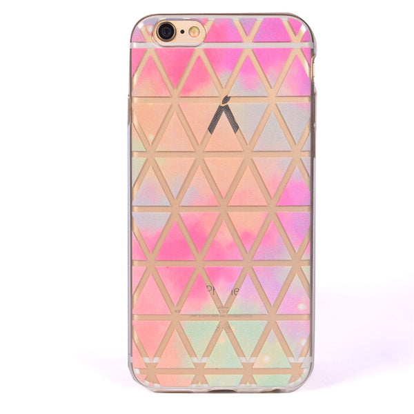 Color Triangle TPU case
