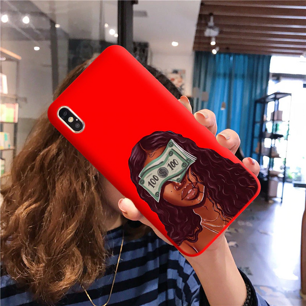 Money Blindfold red case