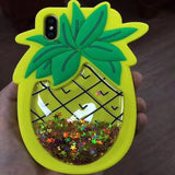 Glitter Soft Pineapple Case