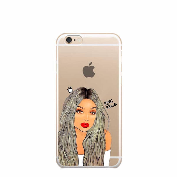 Grey Kylie TPU case