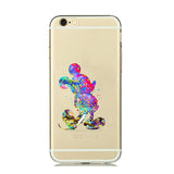 Mickey Watercolor TPU case