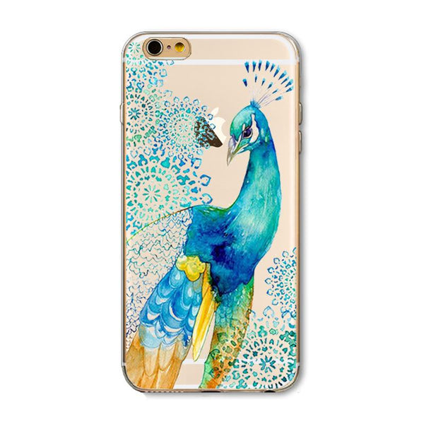 Fancy Peacock TPU case