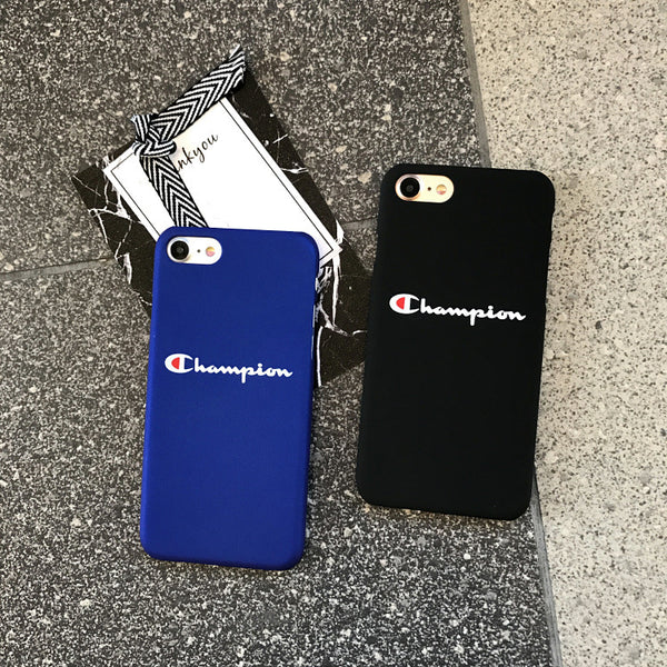 Champion Frosted Logo case