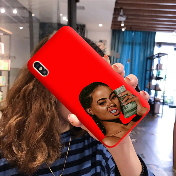 Mean Mug red case