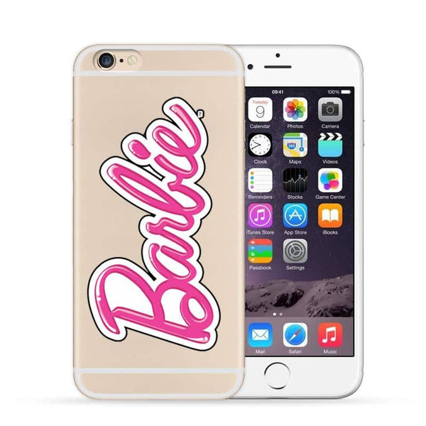 Barbie Bubble Logo TPU case