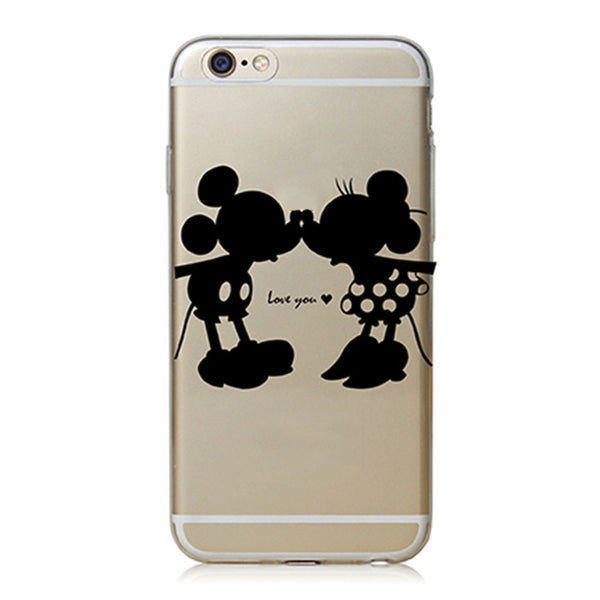 Love You Mouse kiss TPU case