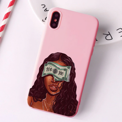 Money Blindfold pink case