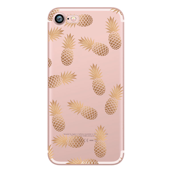 Pineapple Multi Gold TPU case